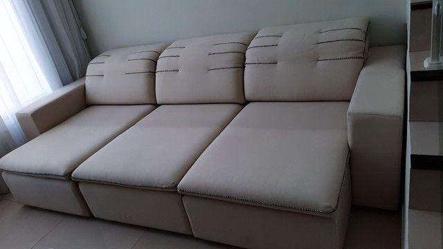 Sofá grande retrátil e reclinável  - Foto 3