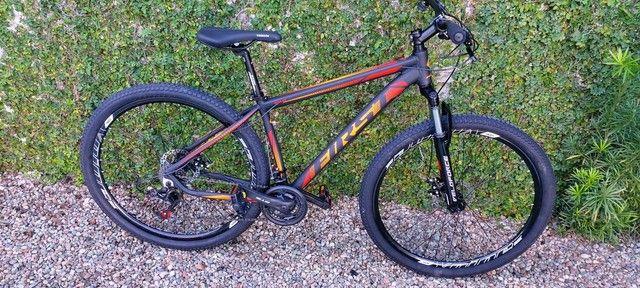 Bicicleta first aro 29 câmbios Shimano tourney  mais barata do brasil - Foto 5