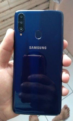 Lindo Samsung Galaxy A20s com carregador faço entrega aceito cartão  - Foto 5