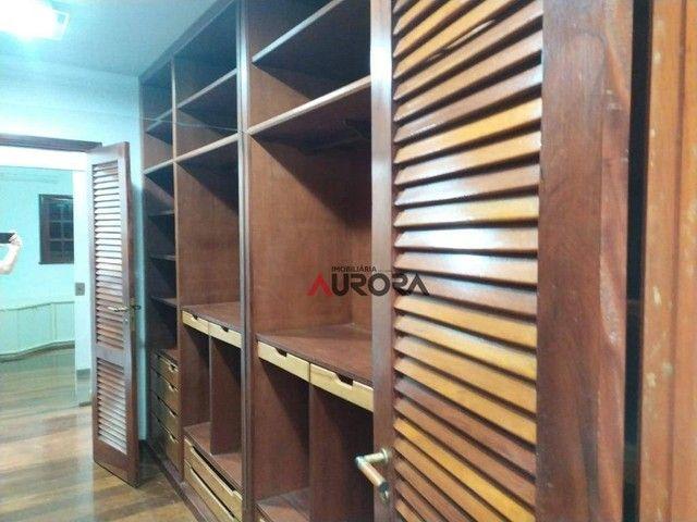 Sobrado com 4 dormitórios para alugar, 370 m² por R$ 5.700,00/mês - Araxá - Londrina/PR - Foto 16