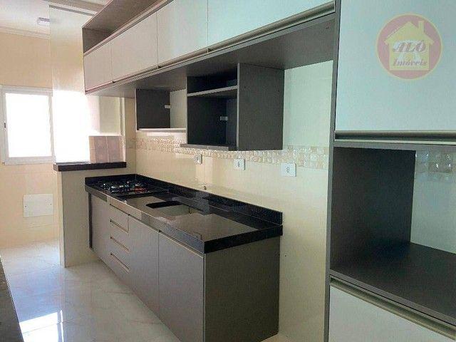Apartamento com 2 dormitórios à venda, 70 m² por R$ 359.000 - Tupi - Praia Grande/SP - Foto 3