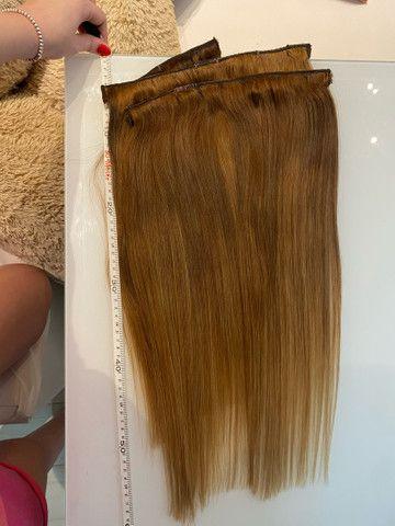 Mega hair humano 60cm