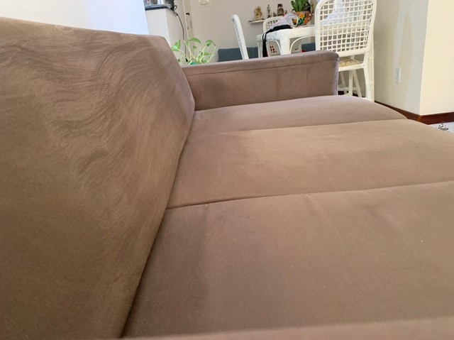 Vendo Sofá  chaise conservadíssimo  - Foto 4