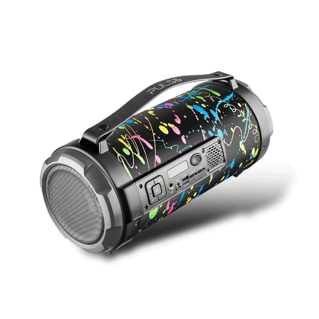 Caixa de Som Portátil Pulse Bazooka SP362 com Bluetooth, USB, Micro SD Rádio FM 120W - Foto 3