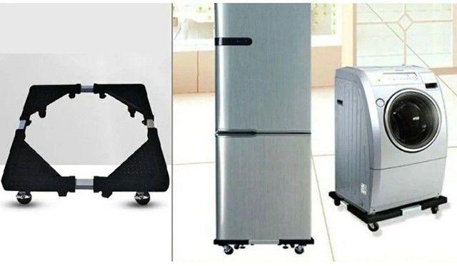 Suporte para geladeira..maquina de lavar e outros ...entrego com 7 dias após ho pedido...  - Foto 4