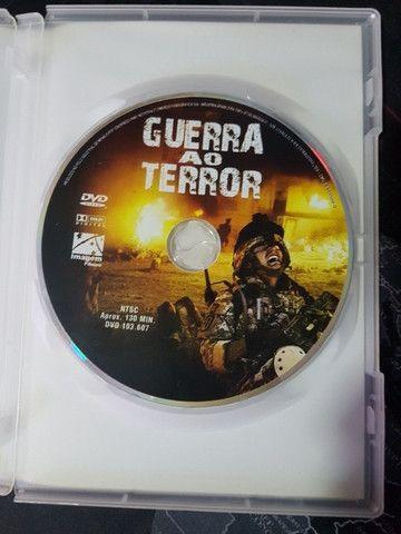 DVD Filme Guerra ao Terror Original - Foto 4
