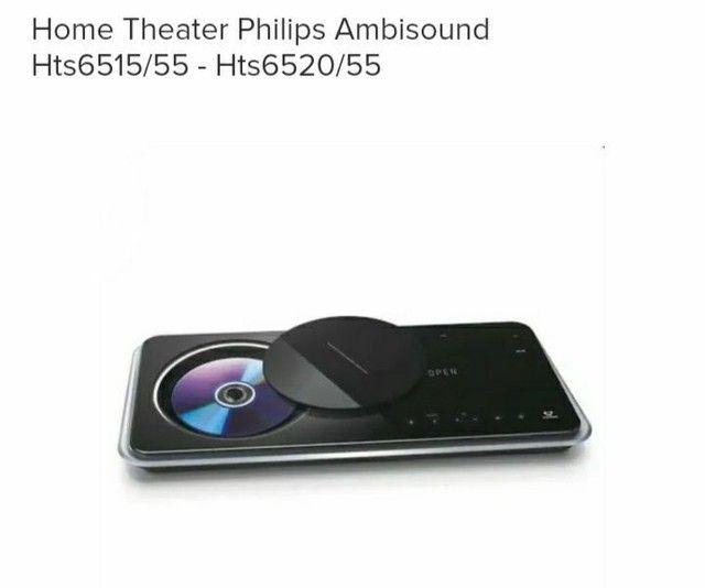 Home Theater Philips Ambisound Hts 6520 - Precinho Especial e Surreal - Foto 2