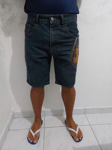 Bermuda jeans masculina M - Foto 5