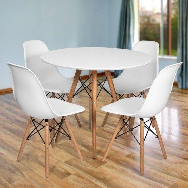 Conjunto de mesa estilo Eiffell + 4 cadeiras!!! - Foto 4