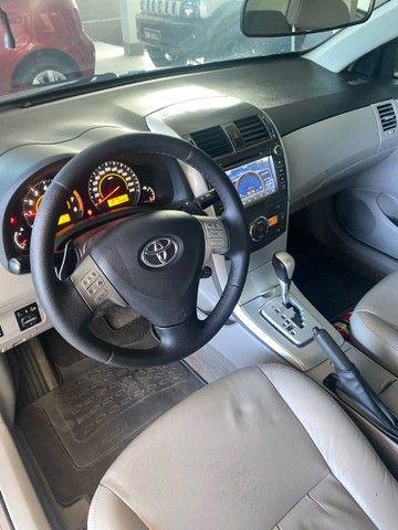 Corolla Xei 2.0 aut 2013 BLINDADO  - Foto 8