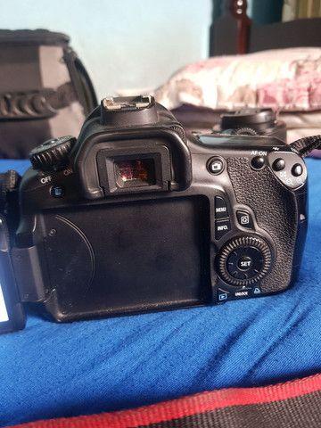 Camera canon 60d + lentes + acessórios  - Foto 3