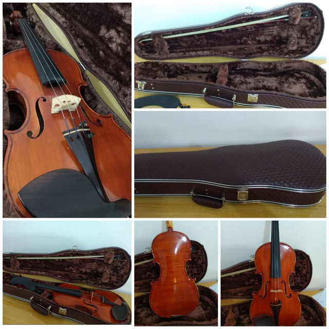 Vendo violino feito pelo Luthier Isaac Ribeiro em 2018 - Foto 2
