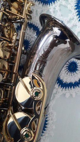 SAX saxofone EAGLE SA 500 onix lindo