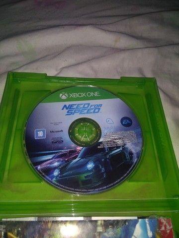 Vendo jogo do Xbox one Need for speed