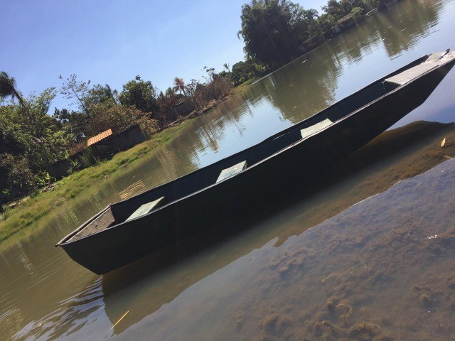 Canoa de fibra 3,5 metro  - Foto 3