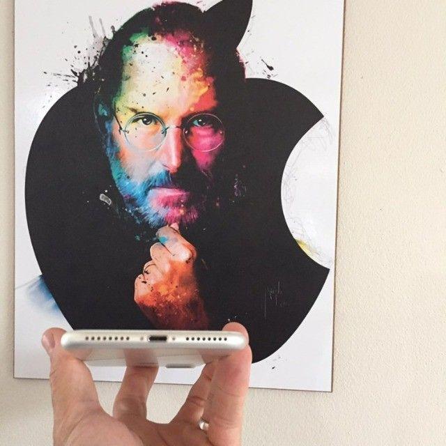 iPhone 7 Plus Silver 256GB Muito Bem Cuidado - Foto 4