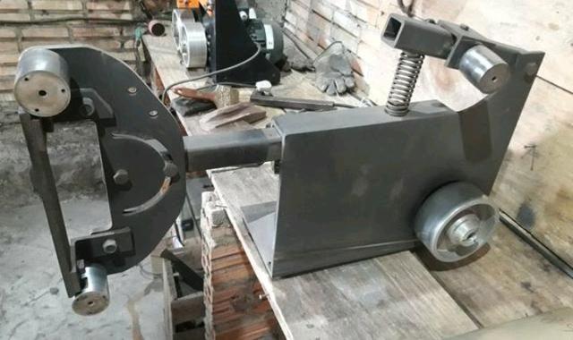 Lixadeira flat para cutelaria