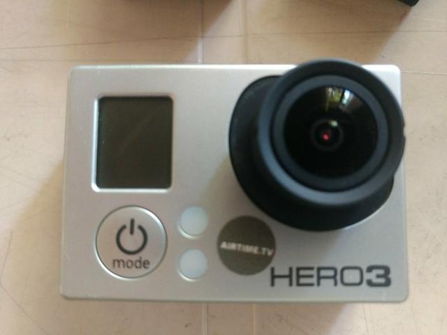 Gopro Hero 3 Black - Com Acessórios