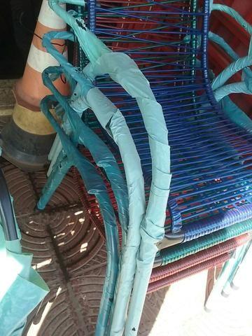 Cadeiras de Fio Reforçada