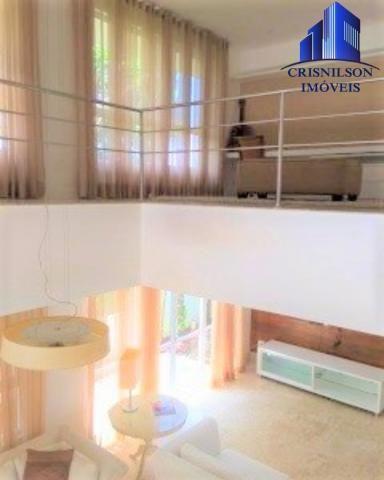 Casa à venda condomínio alphaville i salvador, decorada, 4 suítes, r$ 2.500.000,00, piscin