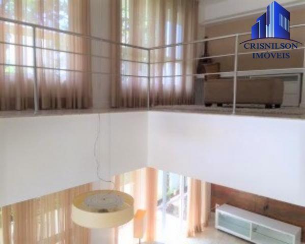 Casa à venda condomínio alphaville i salvador, decorada, 4 suítes, r$ 2.500.000,00, piscin - Foto 9