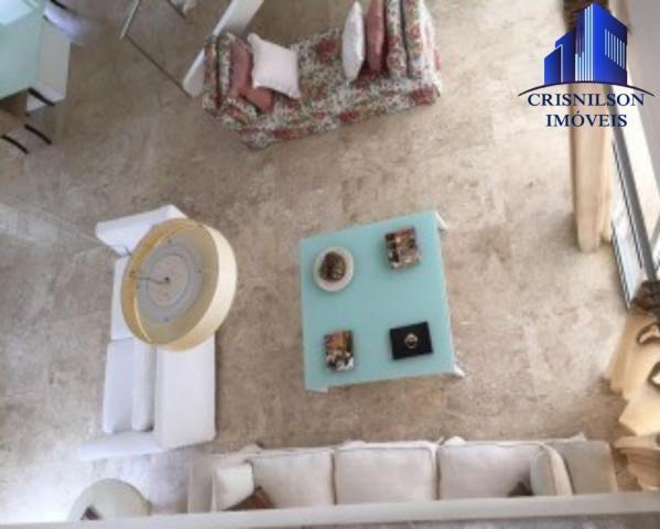 Casa à venda condomínio alphaville i salvador, decorada, 4 suítes, r$ 2.500.000,00, piscin - Foto 11