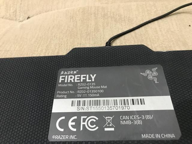 Mouse pad Razer Fireflay - Foto 5
