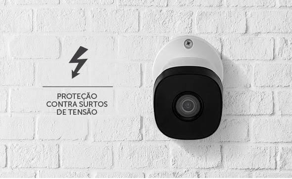 Intelbras kit 8 câmeras proteja sua casa 24 pelo celular + instalação inclusa - Foto 2