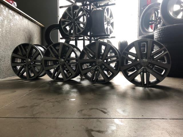 Rodas Aro 18 Hilux SRX 2018 Original - Foto 3