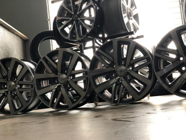 Rodas Aro 18 Hilux SRX 2018 Original - Foto 16