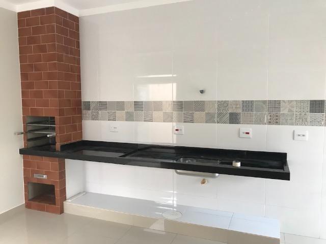 Casa nova 150m em condomínio fechado - suite - closet - area de churrasco - Foto 14