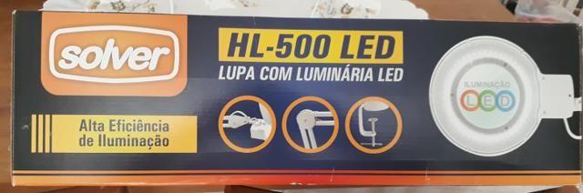Lupa cim luz de led - Foto 4