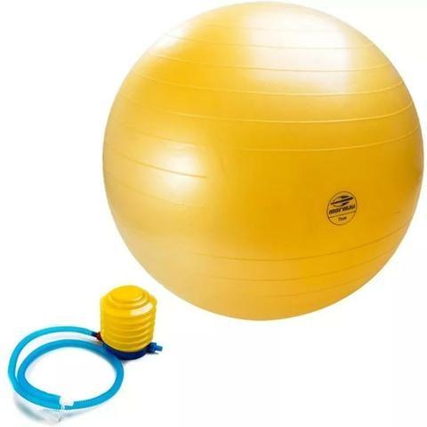 Bola Pilates 75cm - Anti-Burst Mormaii - Esportes e ginástica ... 55e9bb9225649