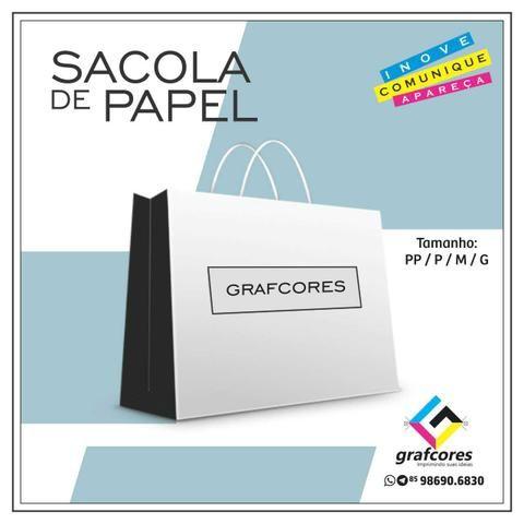 Fachada ACM e Lona / Letra Caixa / Totem / Toldos / Cartão de Visita / Sacola de Papel - Foto 3