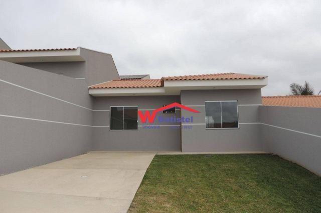 Casa com 3 dormitórios à venda, 52 m² por r$ 189.900 - rua do faisão, nº 154 - arruda - co
