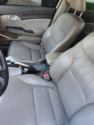 Honda Civic Lxl 2012 com entrada 6.000 + parcelas - Foto 3