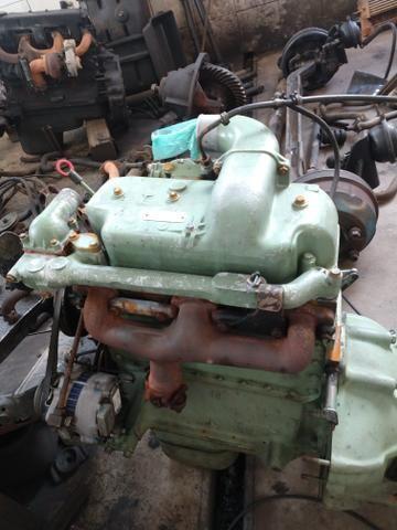 Motor om 314 para 608 . usado . a base de troca