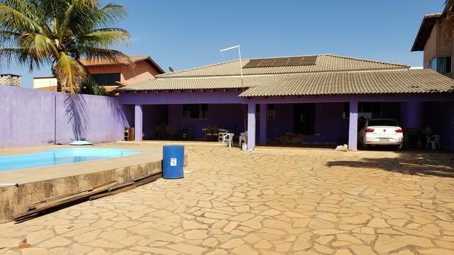 Casa 3quartos suíte piscina churrasqueira lote 830m2 rua 8 Vicente Pires condomínio - Foto 4