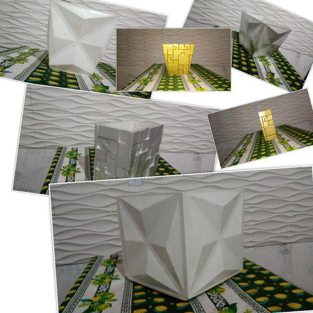 Vasos de decoração 3D
