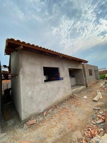 Casa com 2 dormitórios à venda por R$ 125.000 - Orleans Ji-Paraná I - Ji-Paraná/RO - Foto 11