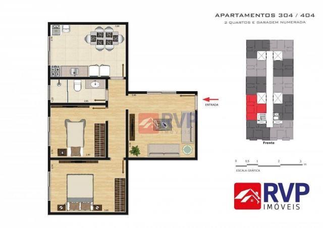 Apartamento com 2 dormitórios à venda por R$ 189.000,00 - Recanto da Mata - Juiz de Fora/M - Foto 15