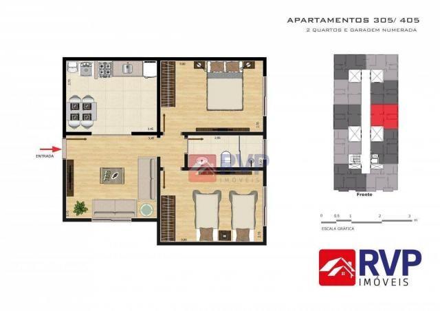 Apartamento com 2 dormitórios à venda por R$ 189.000,00 - Recanto da Mata - Juiz de Fora/M - Foto 16