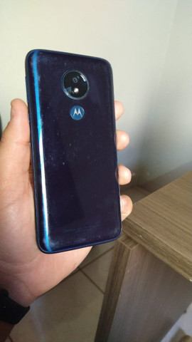 Motorola MotoG7 Power azul Navy - 64 GB e 4 GB Ram - Jataí/GO