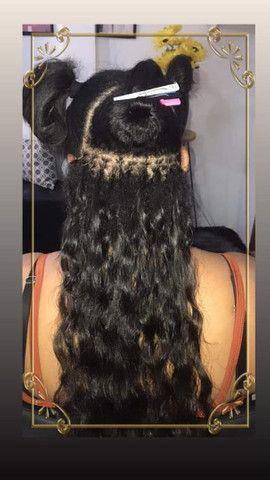 Aplicação e Manutenção de Mega Hair - Foto 3