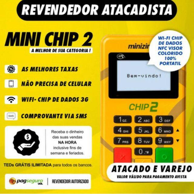 Maquininha com chip pag seguro Atacado e varejo