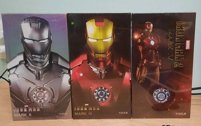 Homem de Ferro Mark II, III E IV ZD toys