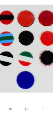3 Jogos de botão completo e 26 botões diferentes  - Foto 5