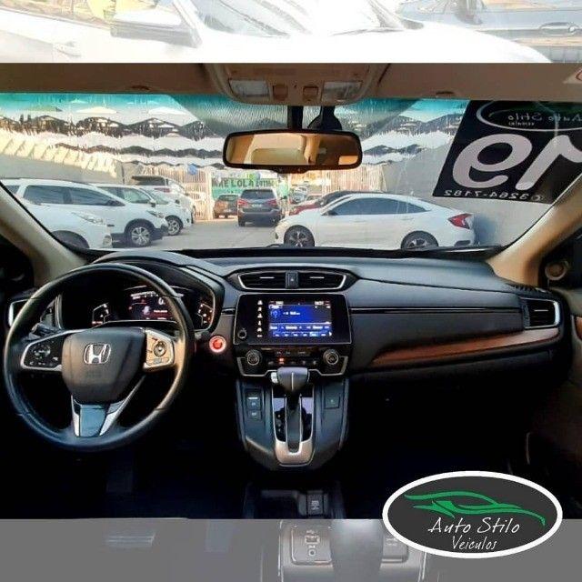 Honda CR-V Touring 2019 Branco Completo  - Foto 6