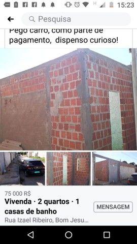 Vendo essa casa em construção,  no bairro São João próximo a Gabriana confecções  - Foto 4