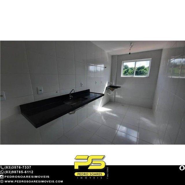 Apartamento com 2 dormitórios à venda, 66 m² por R$ 178.000 - Castelo Branco - João Pessoa - Foto 3